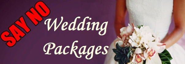 Cupidogowns Say No to Wedding Packages